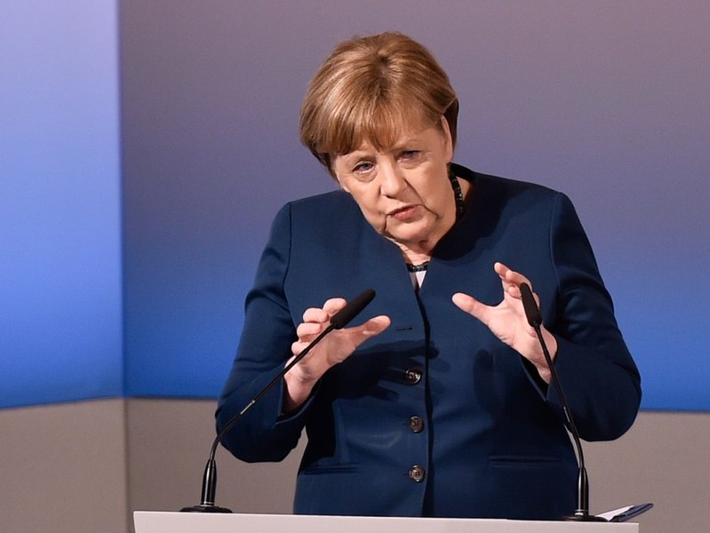 Hypocrisy: Merkel Defends Iran Deal For EU Profits, Wants US Troops To Stay In Syria, While Germany Pays Little For Defense And Gives Energy Security To Russia With Nord Stream II