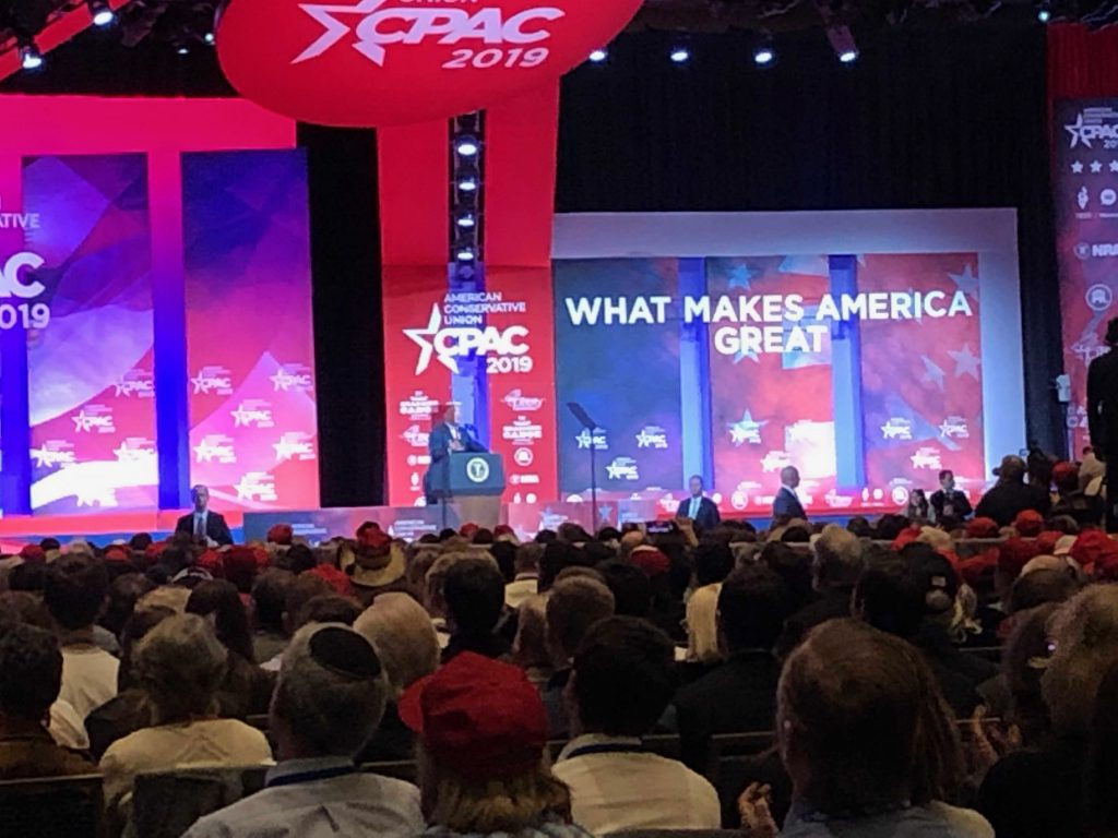 Donald Trump Goes Off Script At CPAC