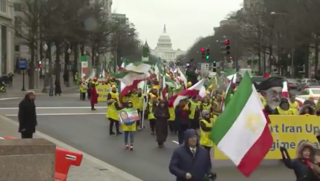 Iran Freedom March In Washington Draws Large Crowd, Calls For Regime Change