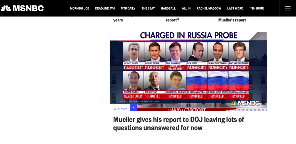 Corrupt Media Tries To Spin No Collusion Mueller Results
