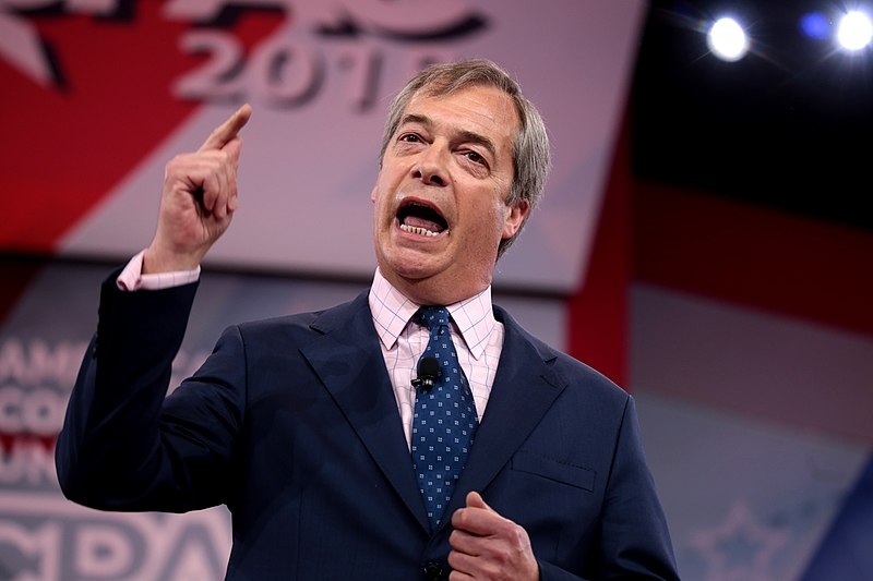 Nigel Farage On Fire...Calls Theresa May An Embarrassment, Will Stand As Brexit Party Leader To Reclaim Leaving EU