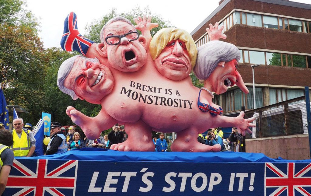 UK Slides Towards Oblivion Under May's (Lack Of) Leadership As Brexit Slowly Dies, EU Smells Blood