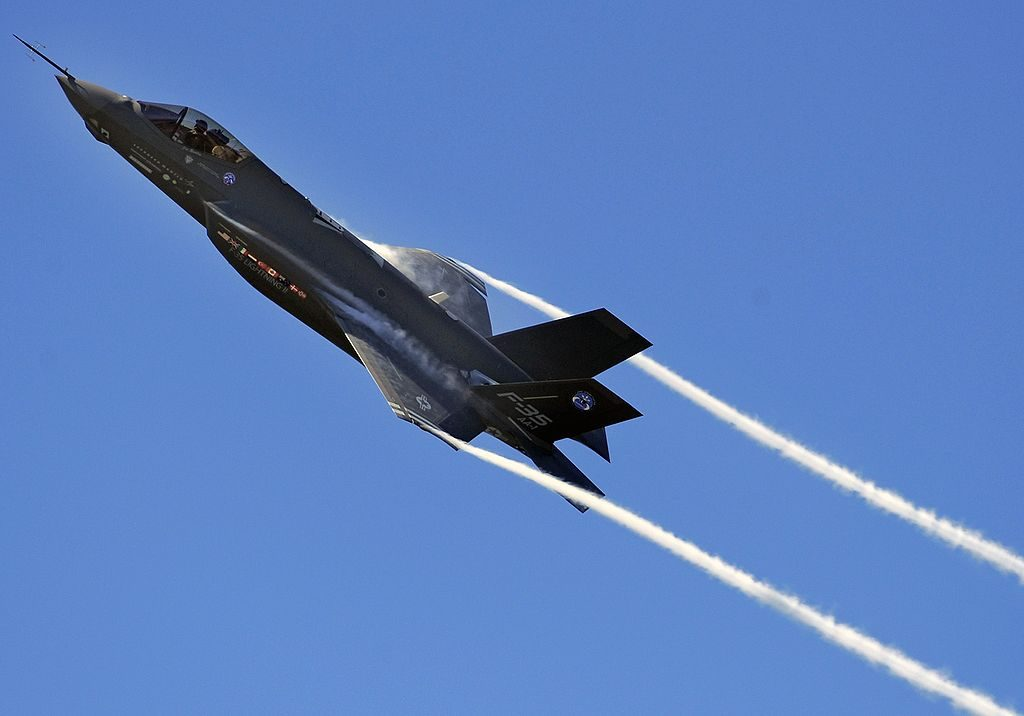 US Halts F-35 Equipment Delivery To Turkey