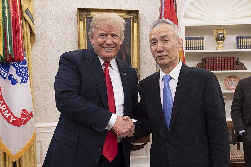 Trump To Meet Chinese Vice Premier Tomorrow At White House As Trade Talks Progress Towards Possible Solution