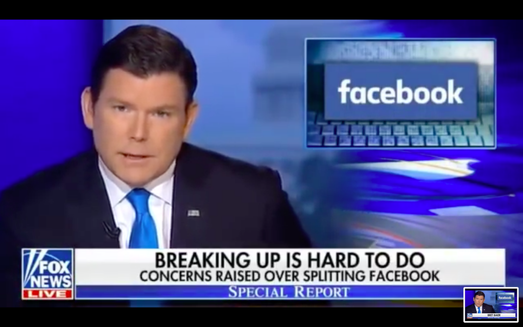 Fox News Lobbies Against Breaking Up Facebook In Propaganda Segment...The Question Is Why?