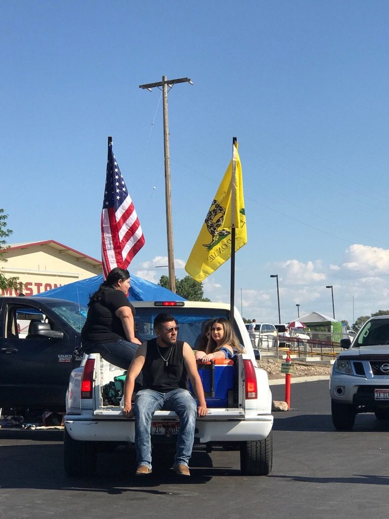 Hispanic Patriots Celebrate July 4th In Idaho...Don't Believe The Media, Minorities Are Patriotic Too!