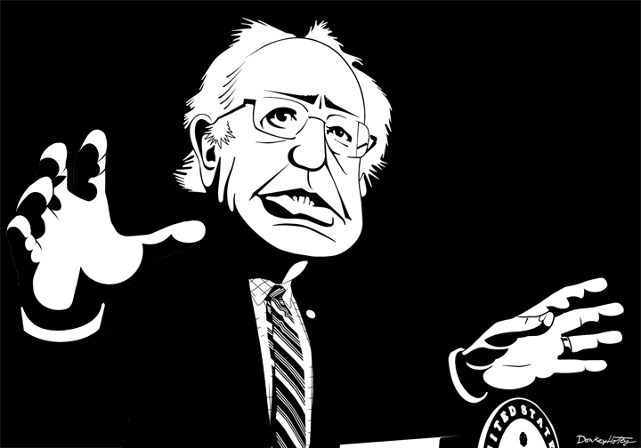 Iowa Shows That If Dems Let Bernie Win, They Go Directly To Jail...They Can't Let That Happen