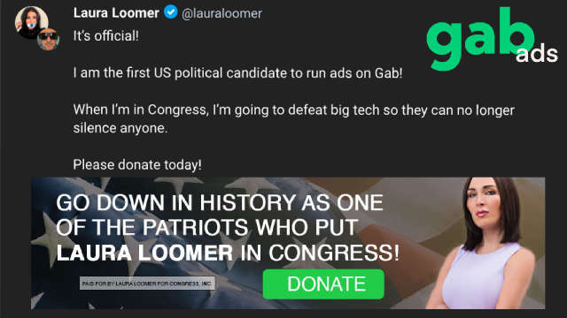 Laura Loomer Goes Around Silicon Valley To Raise Big Money On Gab