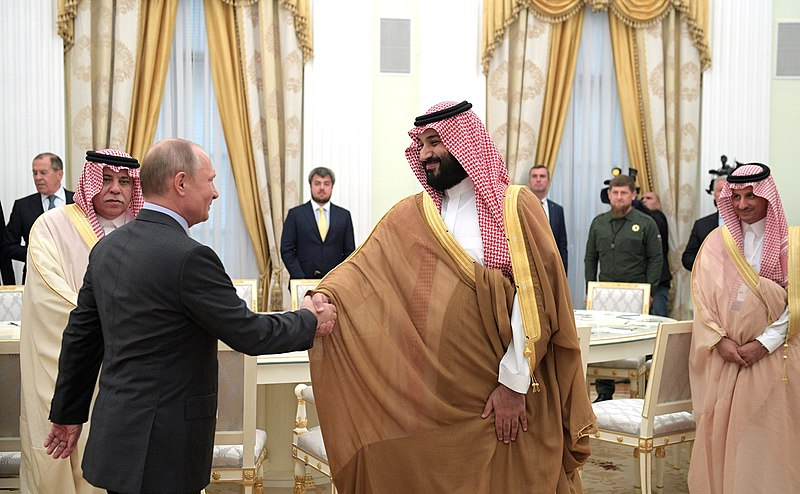 Report: Saudi Arabia And Russia Have Reached Oil Production Cut Deal...Oil Moves Higher 7%