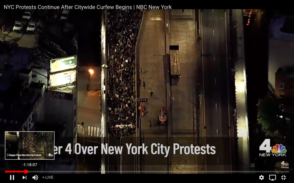 COVID-19 Disappears From Media Narrative As Protesters Don't Social Distance