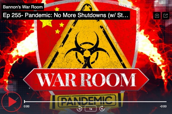 War Room Pandemic:  No More Lockdowns