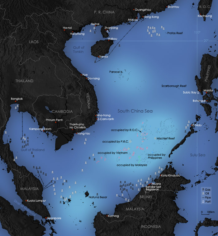 DOD Warns China Over South China Sea