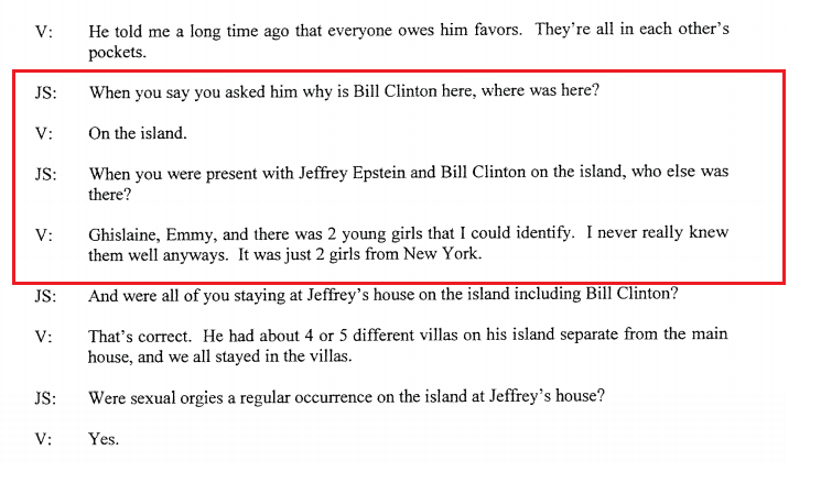 FBI Forced To Release Information On Bill Clinton's Alleged Trips To Pedo Island, Prince Andrew, Alan Dershowitz Also Implicated...Bureau Did Nothing For Years On Child Rape Claims