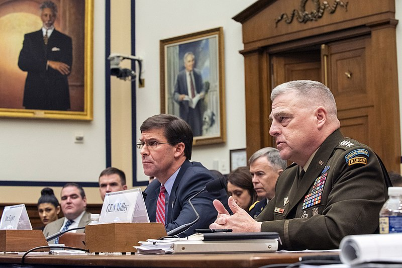 Joint Chiefs Chairman Army General Mark Milley Needs To Go, POTUS Can No Longer Trust Him