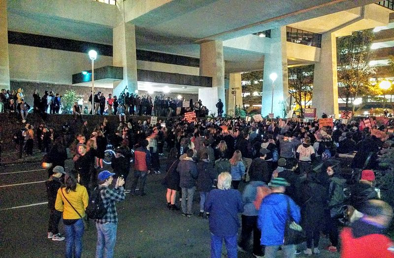 Reports: Federal Officers Detain Portland Protesters In Unmarked Vans