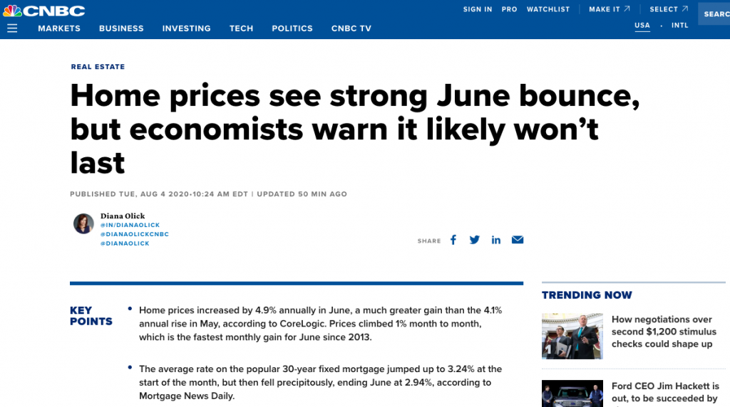 Media Continues To Push Economic Doom, When Evidence Supports An Uneven Recovery Ratcheting Higher