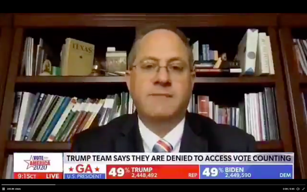 FEC Chairman Says He Believes 'There Is Voter Fraud' In Key States