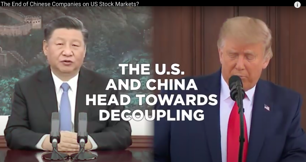 VIDEO: The End of Chinese Companies On US Stock Markets?