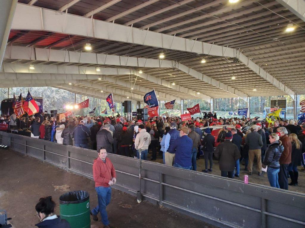 CDMedia Was At GA Rally Today...Highlights