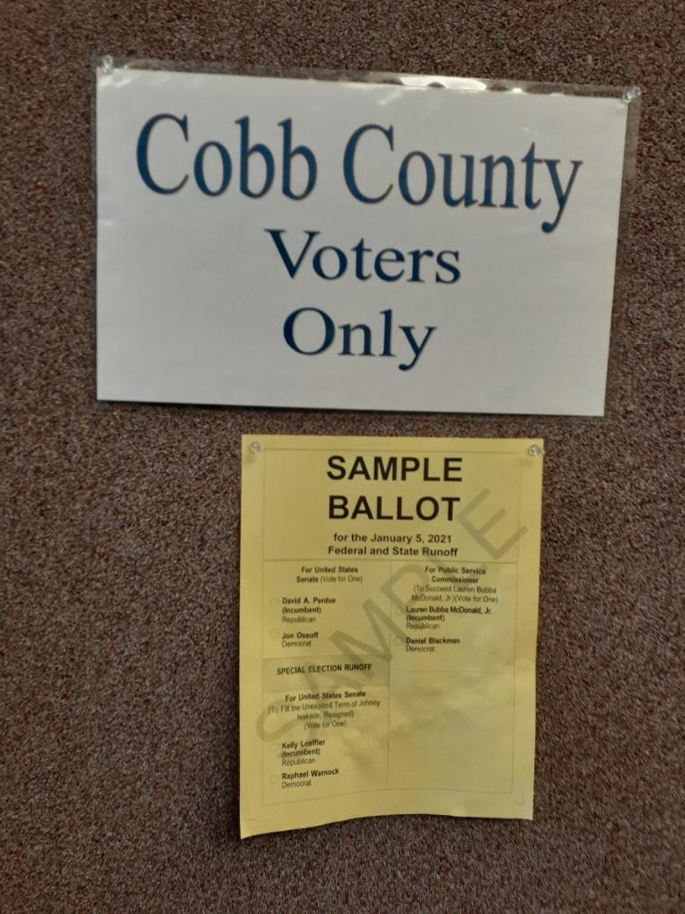BREAKING: Cobb County, GA Voting Facilities Found Wide Open, Unlocked, No One In Building