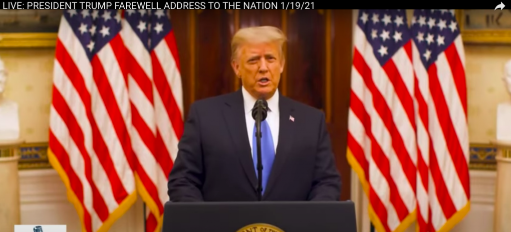 President Trump Farewell Speech