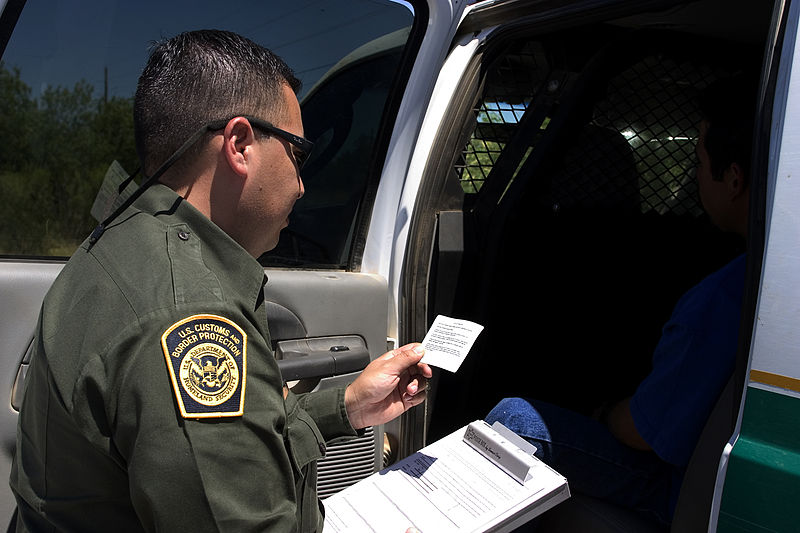 Border Patrol Agents Arrest Group Of 11 Iranians Who Had Illegally Entered The U.S.