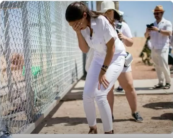 AOC Hypocrisy On 'Kids In Cages' Stunning As She's Silent On Biden Luring Central Americans Into Sex Trafficking For Cartels
