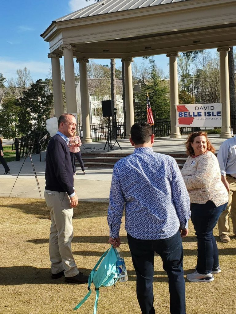Alpharetta Mayor David Belle Isle Launches Campaign For GA SoS To Replace Anti-Trump Raffensperger