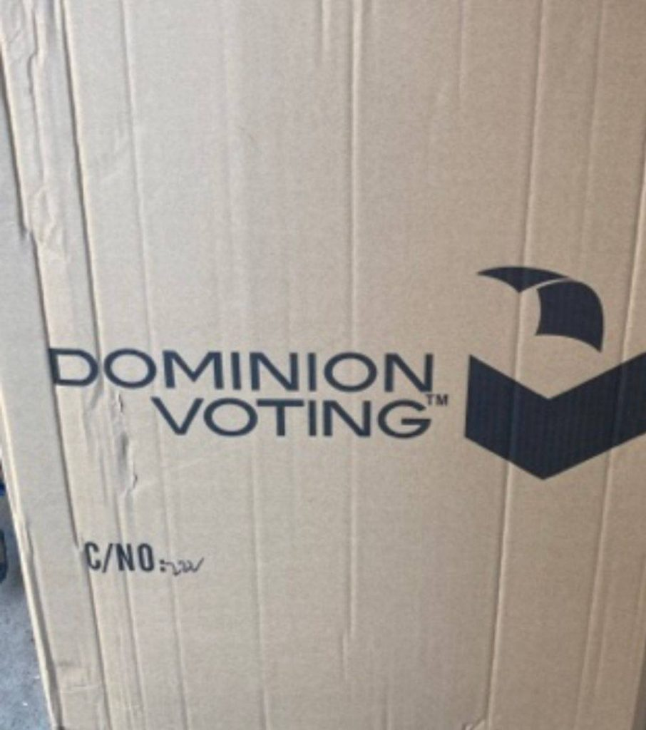 Dominion Received At Least 2,000 Large Boxes From China During 2020 Election