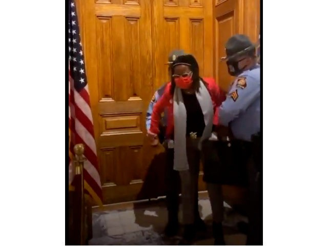 INSURRECTION? Democrat Georgia State Rep. Park Cannon Detained Outside Georgia Governor's Office