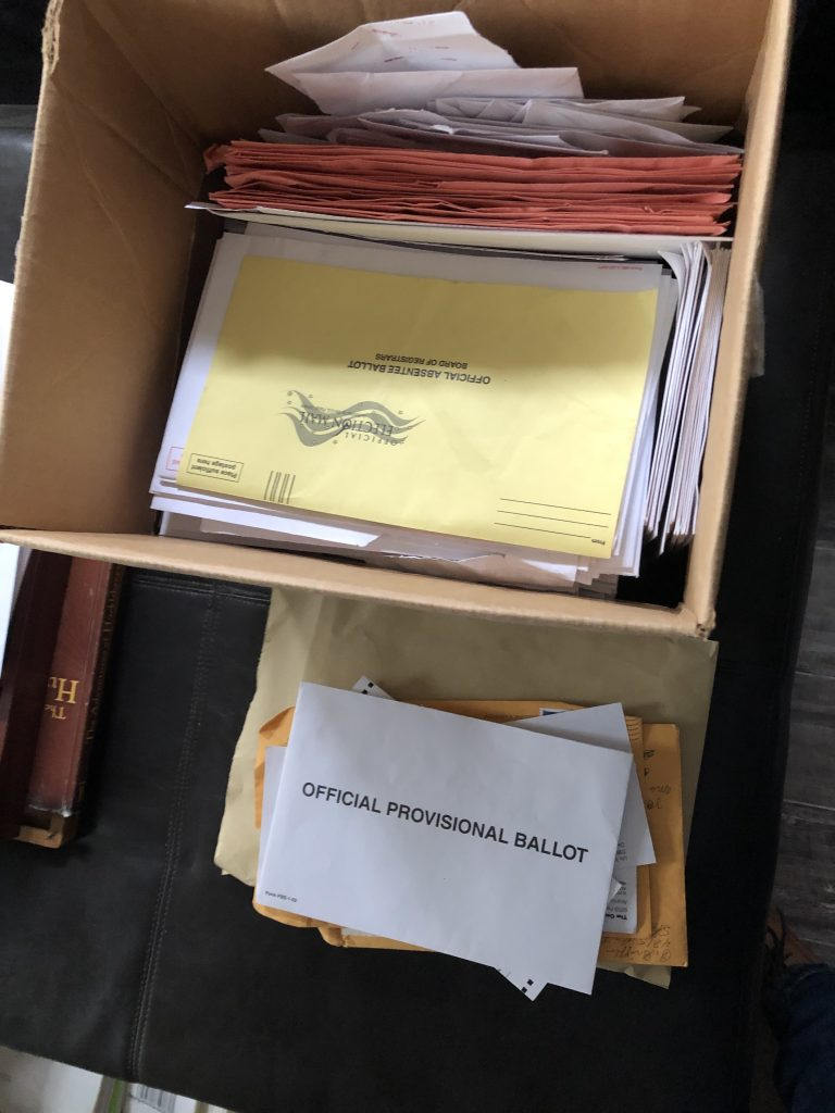 Dekalb County, GA Is Throwing Away Ballots, Envelopes, Other Information Required To Be Retained By Law For 22 Months In Senate Runoff Race...Question Is, Why?