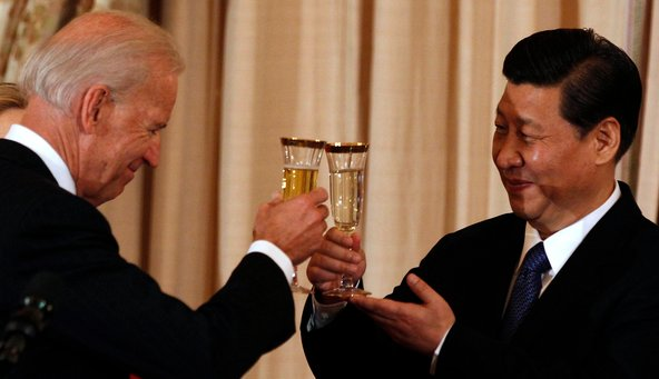 OBiden Regime Wants War With Russia To Cover It's Licking Of Beijing's Boot