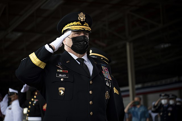 General Milley Needs To Face Military Justice