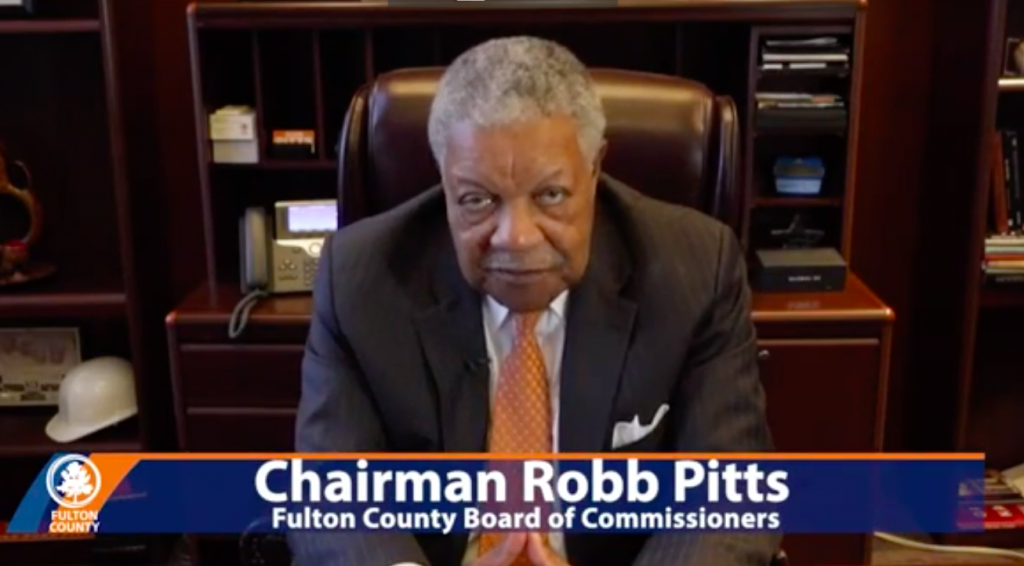 FULTON COUNTY CHAIRMAN ROB PITTS TO DEPOSIT $10 MILLION IN MINORITY-OWNED BANKS