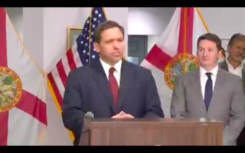 Florida Governor DeSantis Shuts Down Biden...Mic Drop
