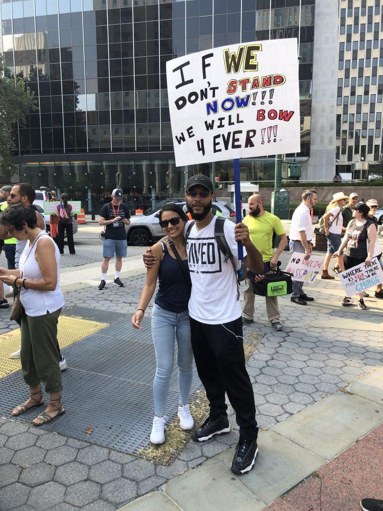 VIDEO: New York Revolts Against Vaccine Mandates