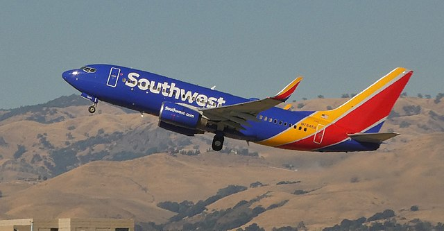 Adding Southwest Airlines To The 'Left' Side Of The Freedom Or Control List Due To Vaccine Mandate